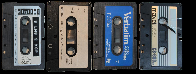 Different cassettes